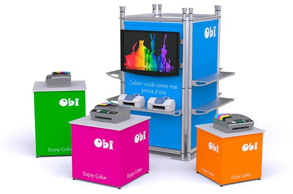 Mini stand fiera sul blog di Lucentigroup.it